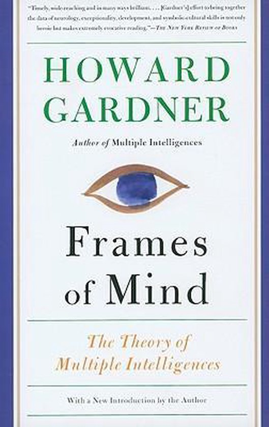 Boek cover Frames of Mind van Howard Gardner (Paperback)