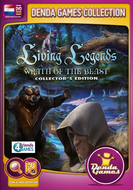Living Legends – Wrath of the Beast Collector's Edition – Windows