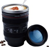 Camera Lens Mok - Cameralens Travel Beker - Thermos Mug Reis Fotografie Meeneembeker - Large