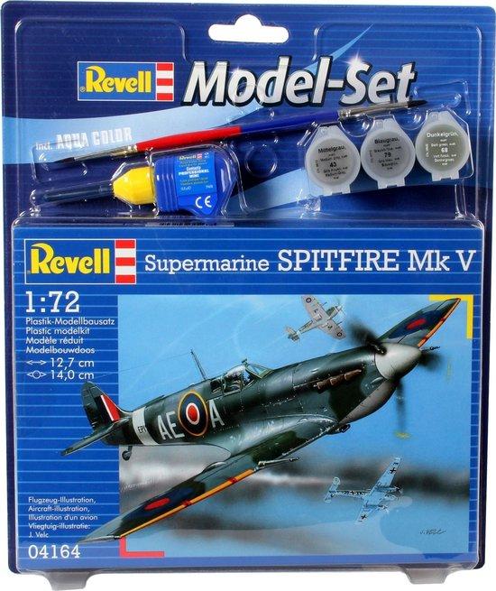 Revell Vliegtuig Supermarine Spitfire - Bouwpakket - 1:72