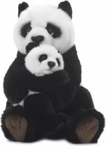 WWF Panda Moeder & Kind 28 cm