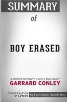 Summary of Boy Erased