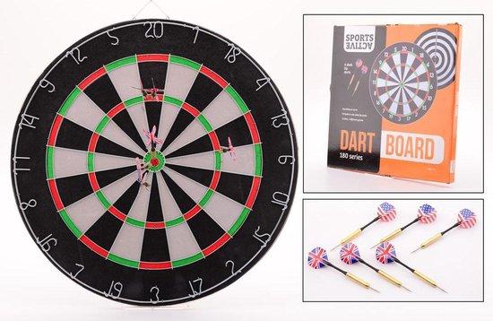 Afbeelding van het spel Sports Active Paperflock - Dartbord