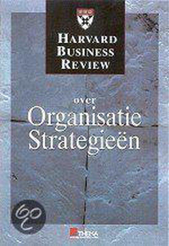 Cover van het boek 'Over organisatiestrategie'