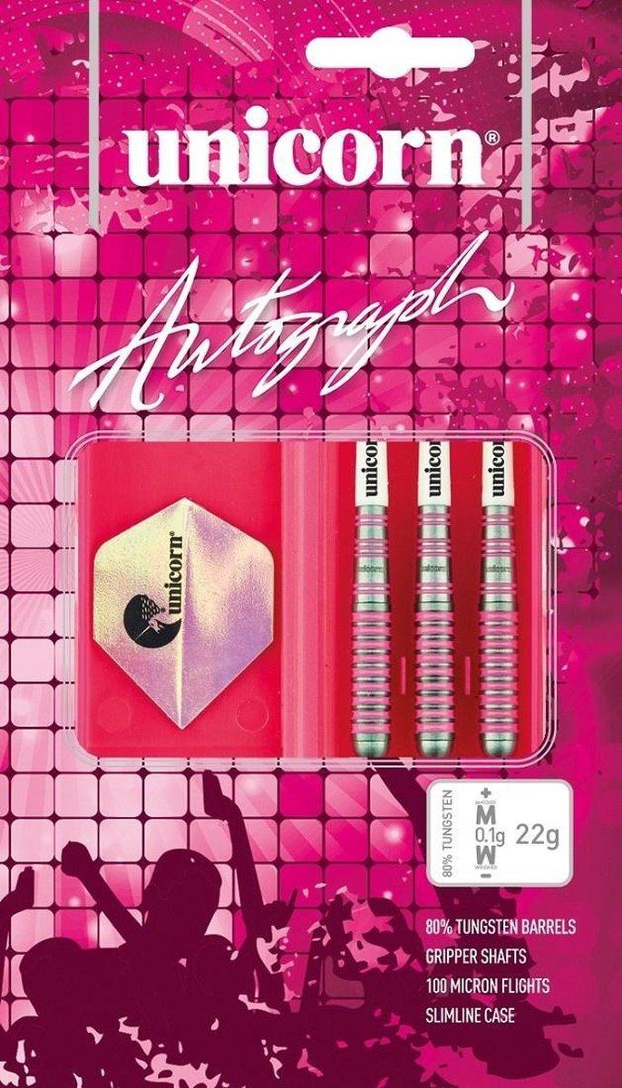 Unicorn Autograph Pink 80% 24 gram Darts