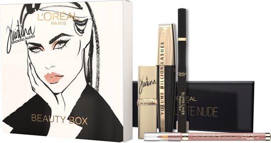 L'Oréal Paris Make-Up Designer Kristina Bazan Smoking Nudes Beauty Box