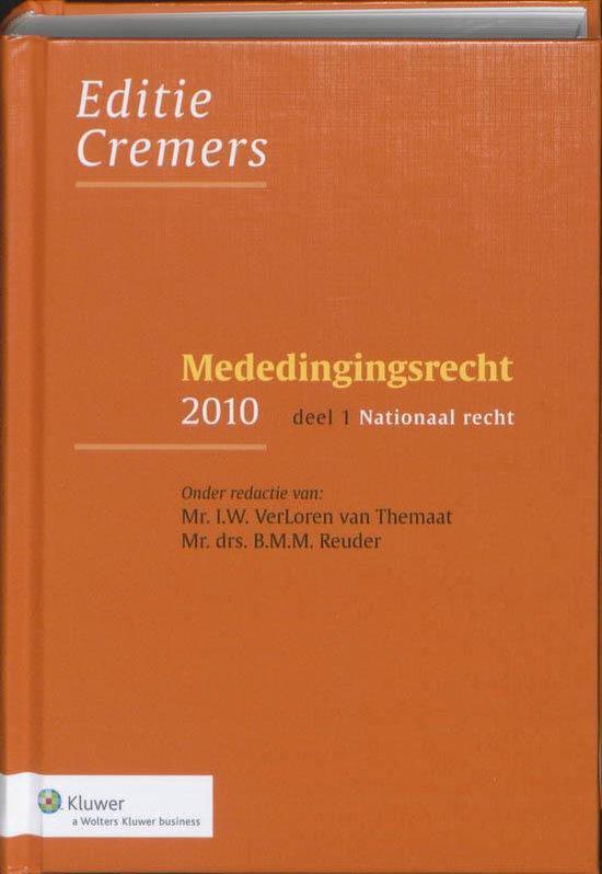 Mededingingsrecht / 1/2 2010 - none  