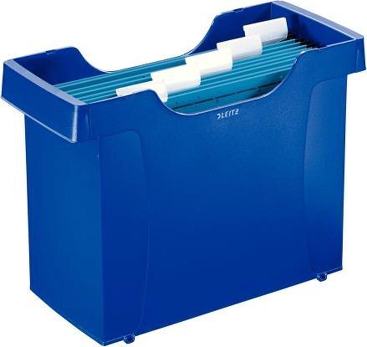 Leitz Hangmappencassette Plus blauw met hangmap