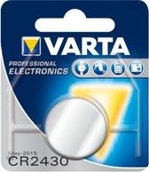 Varta CR2430 Lithium knoopcel batterij 3V - 5 stuks