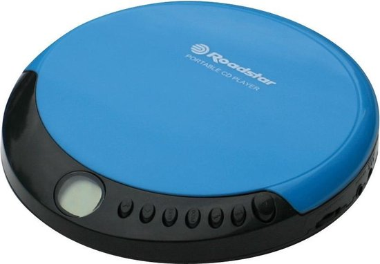 Roadstar PCD-435CD Portable CD player Blauw