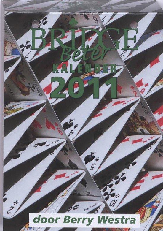 Cover van het boek 'Bridge Beter kalender 2011'