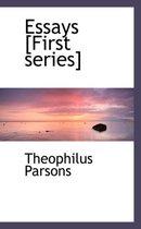 Essays [First Series]