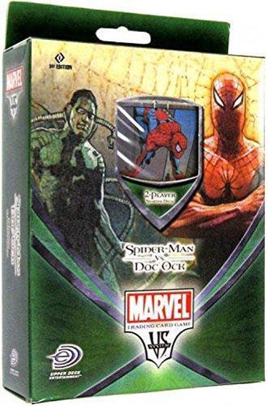 Thumbnail van een extra afbeelding van het spel Spider-Man VS Doc Ock Marvel 2-player Starter Deck TCG Engels