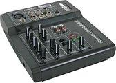 Velleman PROMIX22U 5 kanaals - USB  2.0 - 20000 Hz mengpaneel