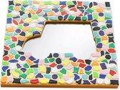 Mozaiek pakket kinderen Spiegel Auto