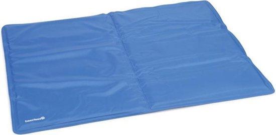 Beeztees Quick Cooler Izi Koelmat - Blauw - 65 x 50 cm