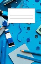 Blue Dot Grid Book Arts and Crafts