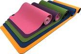 Sportbay Eco Deluxe - Fitnessmat / Yogamat - 183 x 61 cm - Roze