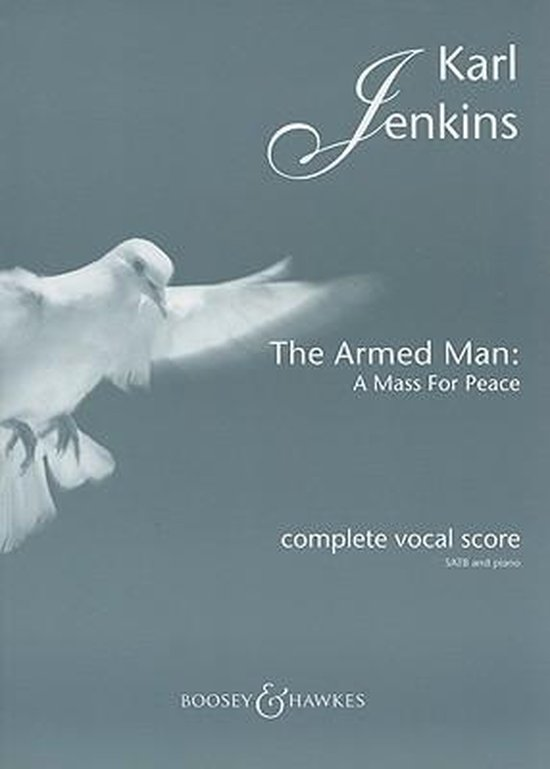 Boek cover The Armed Man - a Mass for Peace (Complete) van Karl Jenkins (Onbekend)