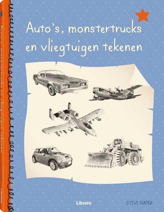 Auto's, monstertrucks en vliegtuigen tekenen (geb) - Steve Napier | Readingchampions.org.uk