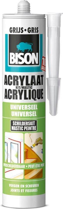 Bison Acrylaatkit - 310 ml - Grijs