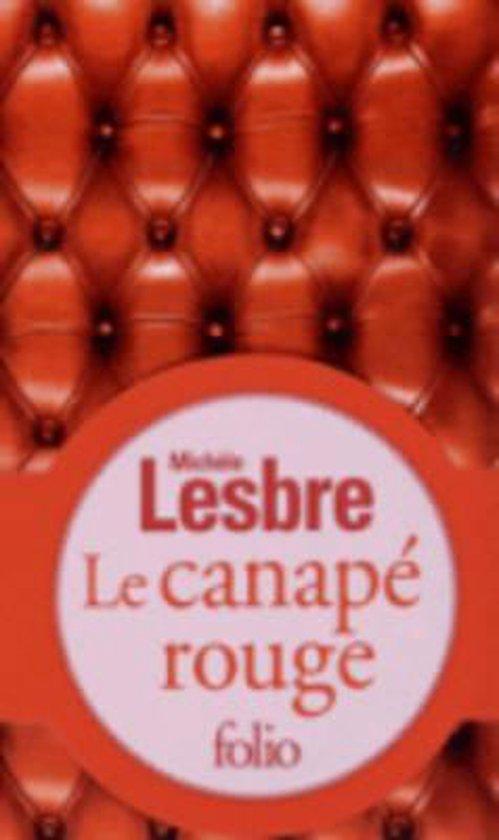 Boek cover Le Canape Rouge van Michele Lesbre (Paperback)
