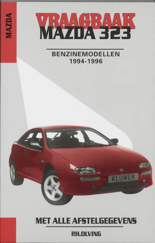 Cover van het boek 'Vraagbaak Mazda 323 / Benzinemodellen 1994-1996'