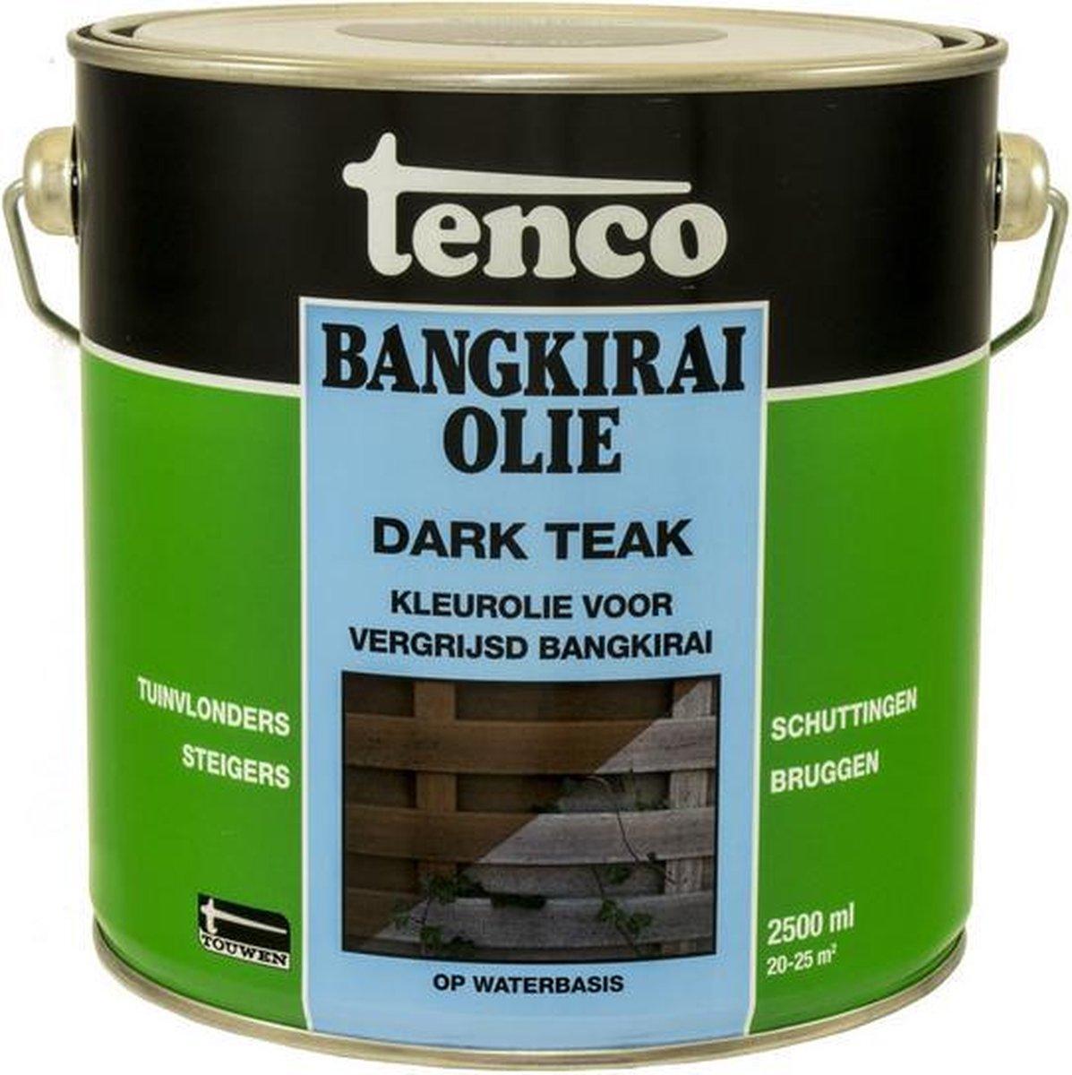 Tenco Bangkirai Olie Dark Teak 2,5 l