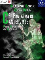 El Fantasma de Canterville para estudiantes de español. Libro de lectura Nivel A2. Principiantes.