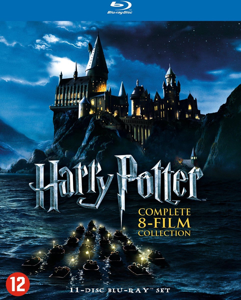 Harry Potter - Complete 8-Film Collection (Blu-ray) - Movie