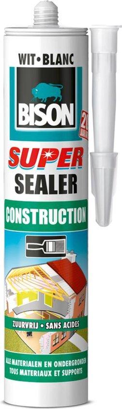 Bison Super Sealer Construction Wit - 290 ml