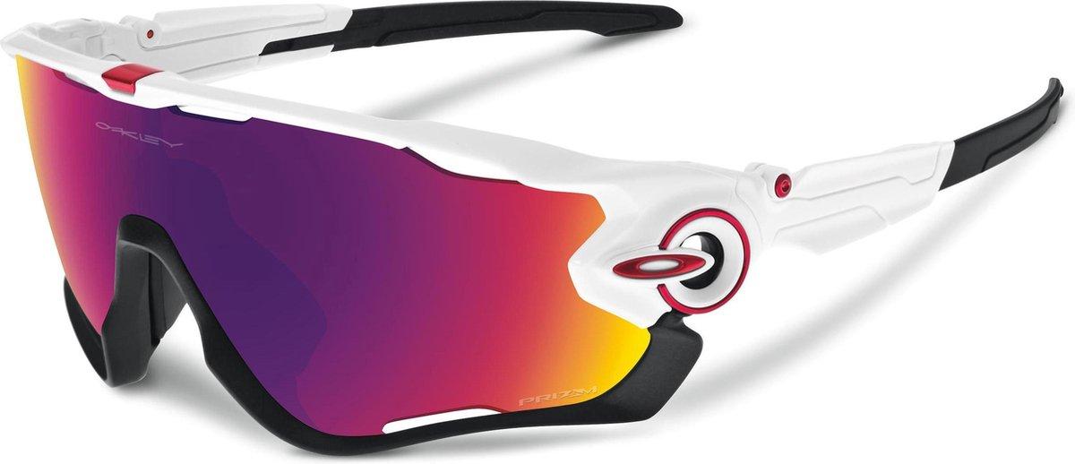 Oakley Jawbreaker - Sportbril - Polished White / Prizm Road - Oakley