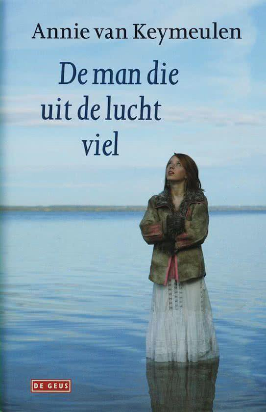 Cover van het boek 'De man die uit de lucht viel' van A. van Keymeulen