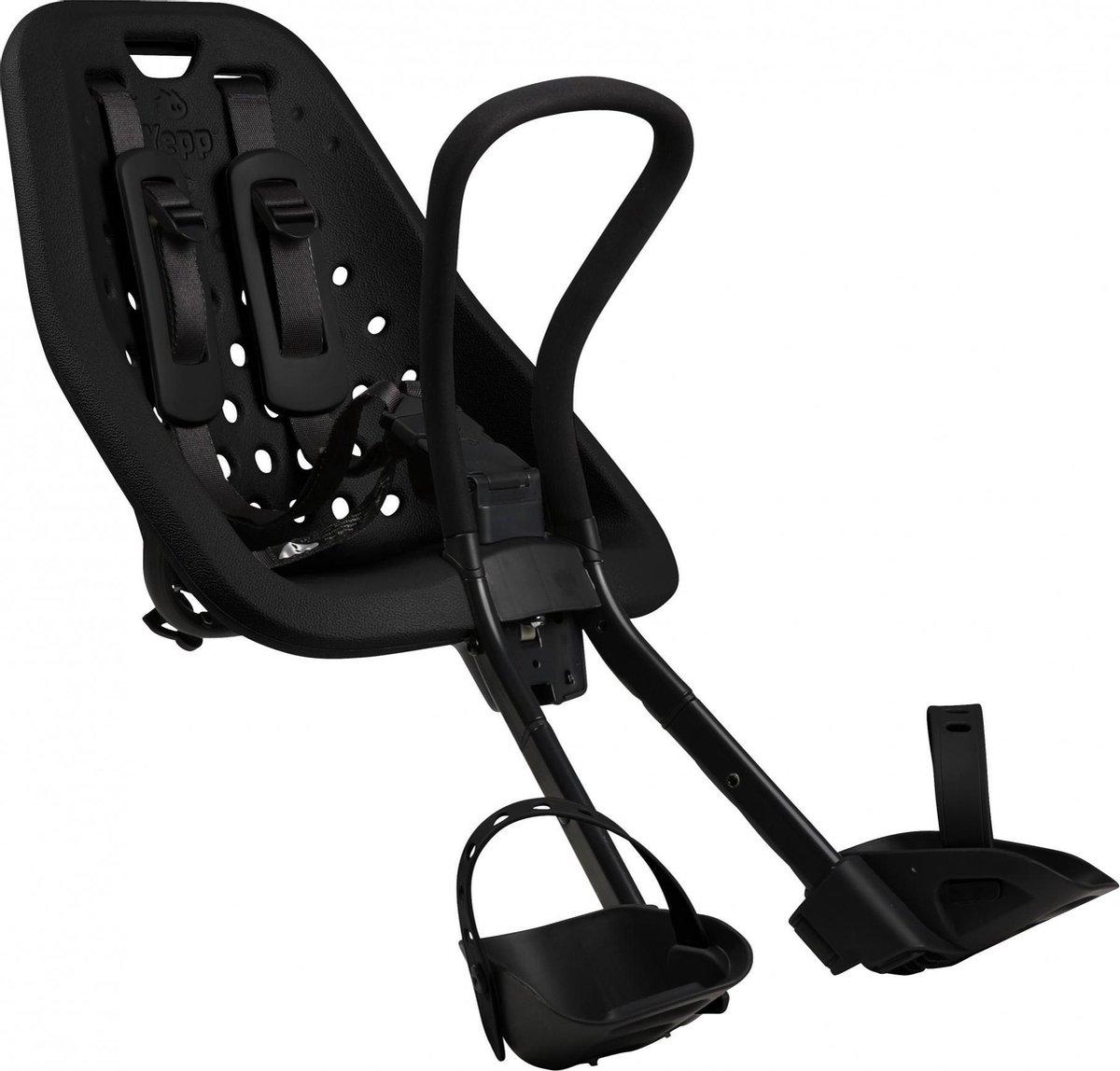 Thule Yepp Mini Fietsstoeltje Voor Stuur - Zwart