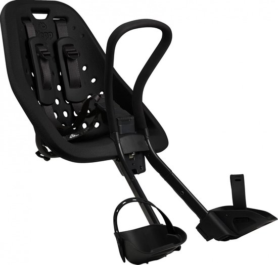 Product: Thule Yepp Mini Fietsstoeltje Voor Stuur - Zwart, van het merk Yepp
