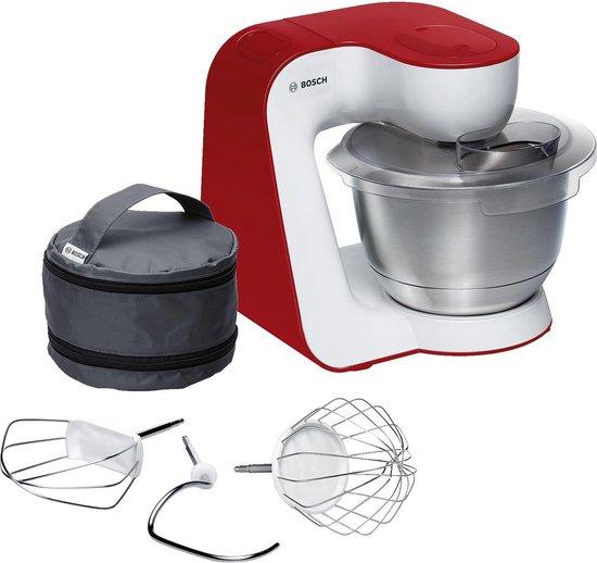 Bosch MUM54R00 Keukenmachine - MUM5 Startline - Wit rood