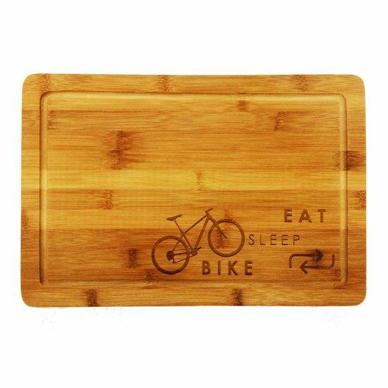 Eat-Sleep-Bike-Repeat Mountainbike Broodplank