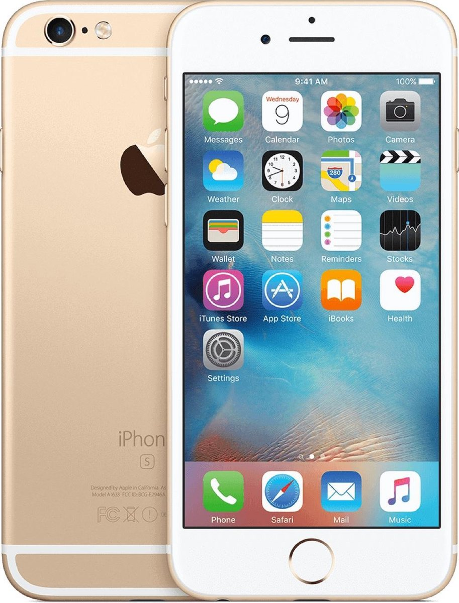 Apple iPhone 6s - Refurbished door Forza - B grade (Lichte gebruikssporen) - 64GB - Goud