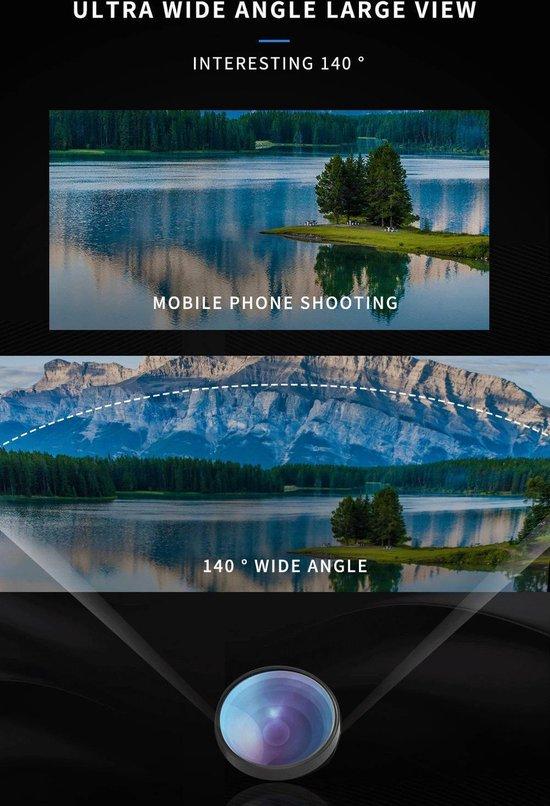 - PiX Series HD Clip Lens - 3-in-1 Fish Eye Lens
