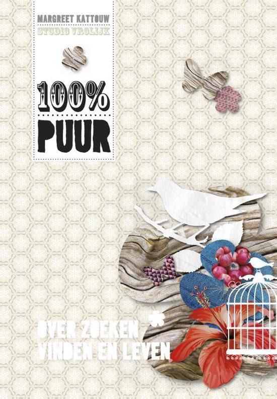 Cover van het boek '100% puur' van Margreet Kattouw