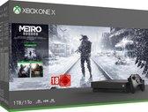 Xbox One X console 1 TB + Metro Exodus