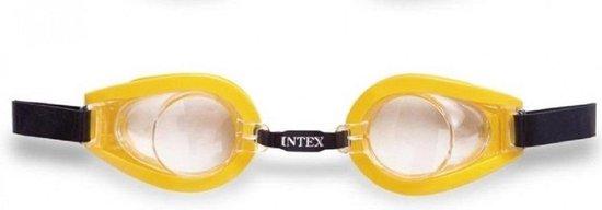 Duikbril geel 3 - 8 jaar Intex