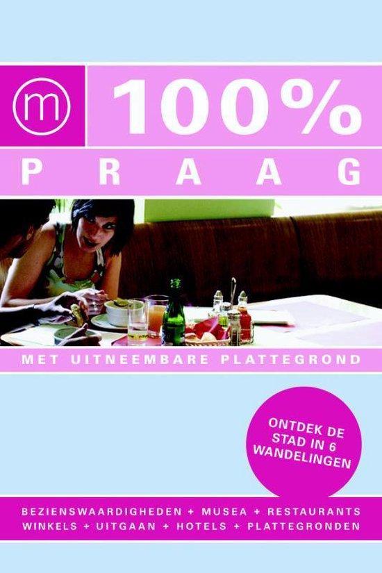 Cover van het boek '100% Praag' van M. Verbaas