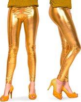 Legging - Metallic Goud - Maat S/M