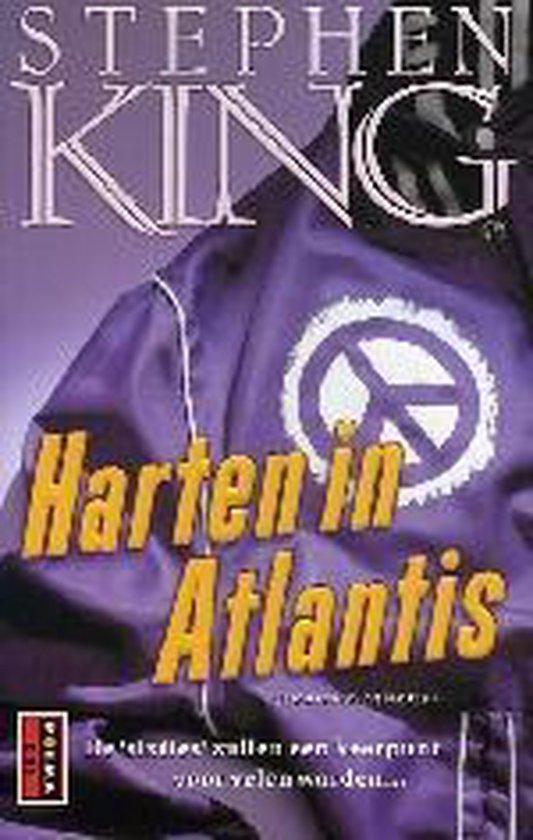Cover van het boek 'Harten in Atlantis' van Stephen King