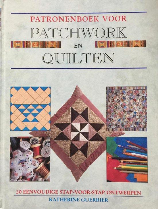 Patronenboek voor patchwork en quilten - Erica van Rijsewijk |