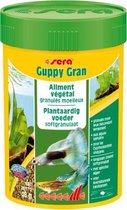 Sera Guppy gran 100 ml langzaam zinkend plantaardig voer