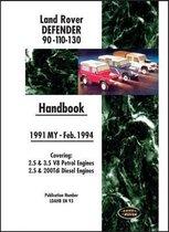 Land Rover Defender 90 110 130 Handbook Mar. 1994-1998 MY