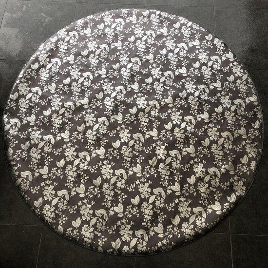 Bonita Tafelzeil - Rond 160 cm - Black Silver
