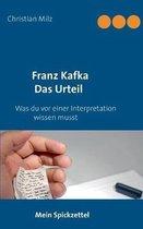 Mein Spickzettel Franz Kafka Das Urteil